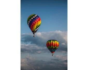 Hot Air Balloons at the Battle Creek Michigan Balloon Festival No.6908 A Fine Art Aviation Photograph