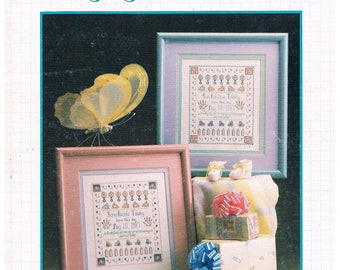 A Baby Sampler Cross Stitch Chart by Graphworks