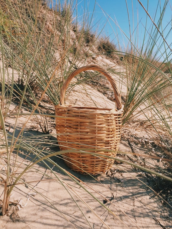 the Ray Ray -wicker market basket bag