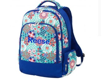 Personalized Garden Party Backpack