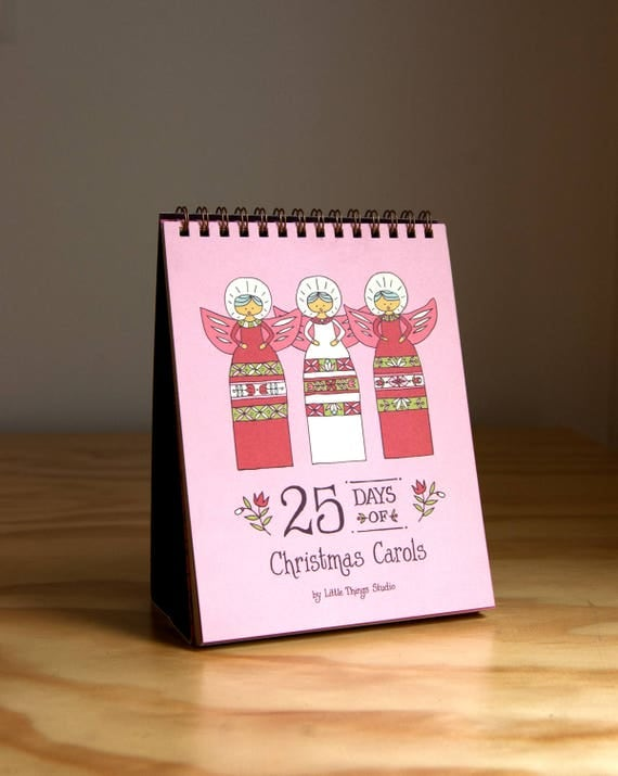 25 Days of Christmas Carols Advent Calendar
