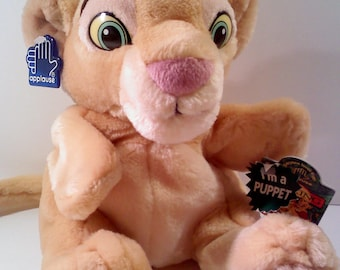 Disney LION KING Hand Puppet- NALA