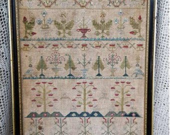Pre-order 2018 Nashville Market SAMPLERS NOT FORGOTTEN Ann Wright 1726 counted cross stitch patterns at thecottageneedle.com