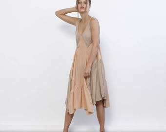 Big Summer Sale Maylee Dress - Nude