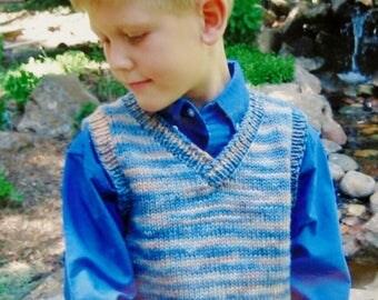 Knitting Pattern | Knitting Pure & Simple | BASIC VEST For CHILDREN | Sweater | Handknitting | Hand Knit | Knit Sweater | Kids | Children