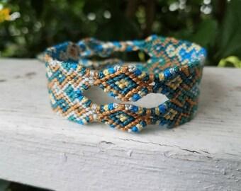 Ocean Avenue   Arrowhead Friendship Bracelet Woven Bracelet