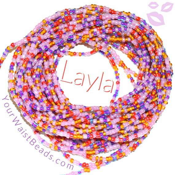 Waist Beads & More ~ LAYLA ~ YourWaistBeads.com