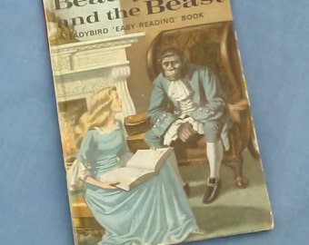 Beauty and the Beast - Vintage Ladybird Book Series 606D Well- loved Tales - Grade 3 - Tally 270 - Matt Covers - Hardback