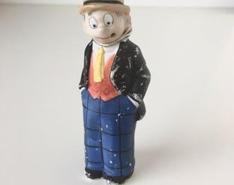 Moon Mullins Bisque Nodder Comic Figure 1930s Germany