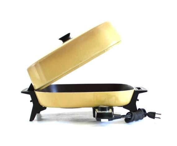 General Electric Skillet Bisk27hrt Ge Electric Frying Pan