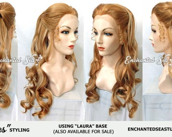 """Made to Order! : """"Dolores"""" Lace Front Premium Styled Wig- Includes Accessories & Wig Head! Inspired by Dolores Abernathy HBO Westworld"""