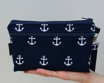 Wristlet Wallet for iPhone 7 or 8 Plus, X-Large Smartphone Wristlet