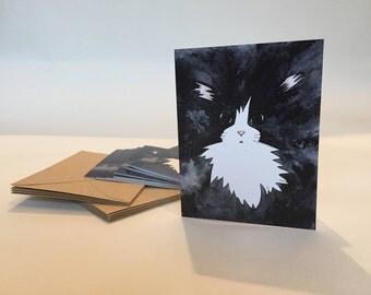 Cat Note Cards - Set of ten