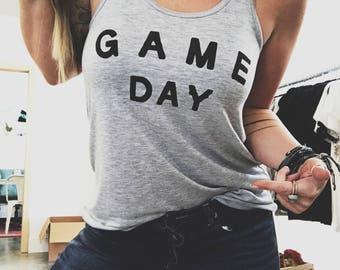 Game Day Shirt, Football Shirt, Football Season Shirt, Game Day Shirt, Customizable Tee, Football Tank, Football Season Sweatshirt
