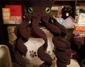 12 inch Black Octopus - Custom Order for Jessy Estrada