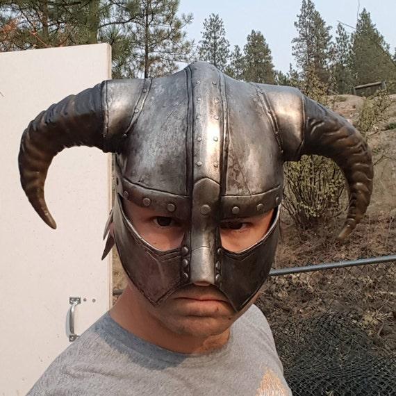 how to make a skyrim helmet
