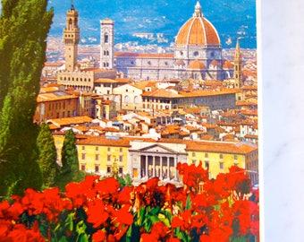 Firenze / Florence Italy 22 Postcard Souvenir Book