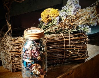 Country Prim Jar Potpourri  ~ Country Home