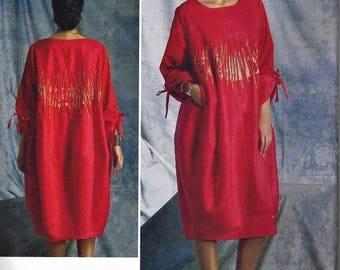 KOOS Van Den AKKER for VOGUE Pattern #v1401~Misses Sz 8-16~Misses' Oversized Embellished  Dress New