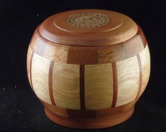 Ash & Mahogany Pet Urn # 1054-54