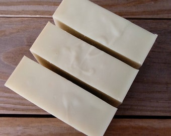 Olive + Black Currant Bastille Soap   Olive Oil Soap   Handcrafted Castile Soap   Natural and Organic Ingredients   Calendula Infused Soap