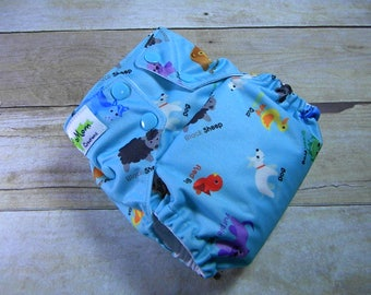Brown Bear OS Ai2 w/ Bamboo Insert Cloth Diaper All in Two