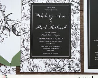 Wedding Invitation Suite {Forever Roses}