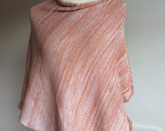 First Mothers Day Gift  Bamboo Knit Nursing Wrap  Lightweight  Bamboo Summer Poncho Wrap for  mum to be. Summer Beach poncho Wrap