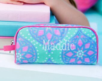 Personalized Pencil Case, Monogram Pencil Pouch, Pencil Holder, Pencil Bag, Pencil Box, Personalized Pen Case, Supply Case, Back to School
