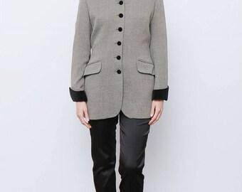 Rare 80's Vintage 80's Long line Blazer Jacket