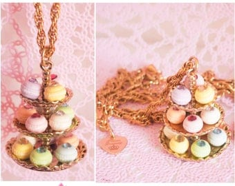 Macaron Tower Necklace