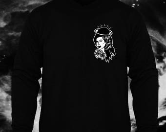 Love is a Losing Game - Amy Winehouse Illustration Unisex Sweaters.