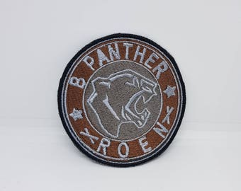 Final Fantasy FFXV Prompto B Panther Vest Iron/Sew on Patch