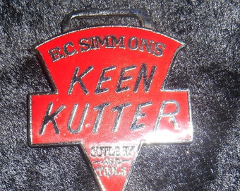 Collectible Watch fob of Keen Kutter Cutlery