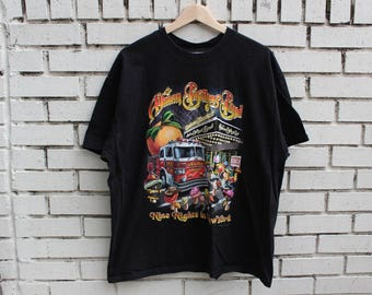 "ALLMAN BROTHERS BAND Shirt ""Nine Nights In New York"" size xl x-large live promo rock concert tour"