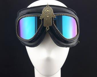 Burning Man Music Festival style Goggles