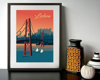 Lisbon Poster - A3