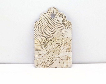 Tan and White Gift Tags, Party Tags, Wedding Tags,  Gift Tags, Pattern Gift Tag, Wish Tree Tags, Favor Tags, Design Tags, Swirly Gift tags