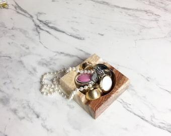 Onyx ashtray   Natural stone ashtray   Marble stone ashtray   Art Deco ash tray