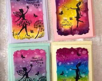 Magical Fairy Card Set