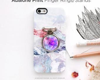 iPhone Ring Stand Nebula Print Ring Stand Phone Mount Holder iPhone Ring Case iPhone Ring Grip iPhone Ring Case Finger Ring 15.