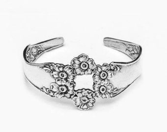 "Spoon Cuff Bracelet: ""Florentine"" by Silver Spoon Jewelry"
