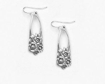 "Spoon Earrings: ""June"" by Silver Spoon Jewelry"