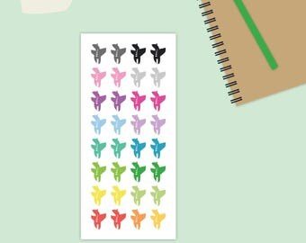 Airplane Stickers, Plane Stickers, Travel Stickers, Flight Stickers, Airport stickers, vacation stickers, Planner Stickers, Air planes