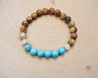 Mala Bead Bracelet, Bracelet for Women Girls, Women Gift, Teen Girl Gift, Bead Bracelet, Yoga Bracelet, Meditation Bead Bracelet, Gift Ideas