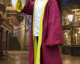 Harry Potter inspired robe - handmade in all sizes