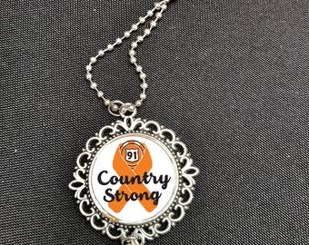 Route 91 Country Strong pendent necklace