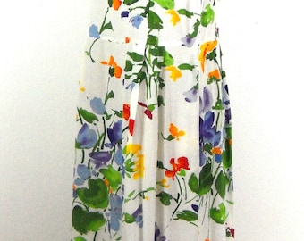 80s Jams World Maxi Dress // Size S/M