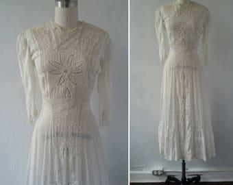 On Hold, Quivivraverra - Edwardian dress | 1900s dress | antique dress | antique 1900s dress | Edwardian lace dress | The Magical Hour Dress