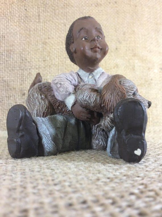 Vintage Sarah's Attic Lucas II, Sarah's attic black heritage collection, 2881 of 10000, beautiful Sarahs Attic collectibles, great gift idea